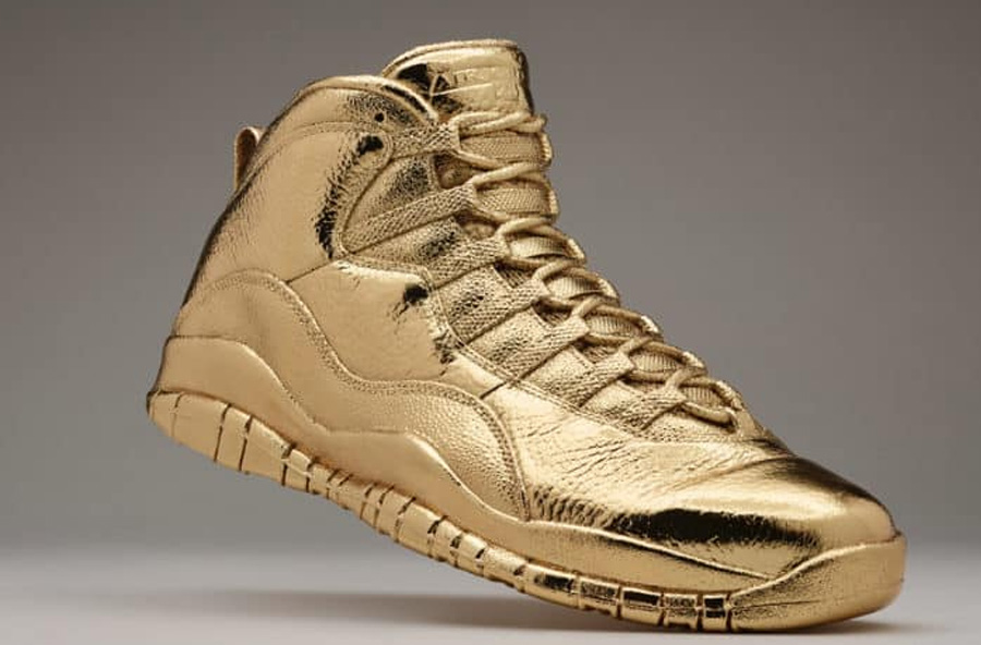 Solid Gold OVO x Air Jordan